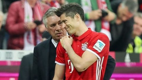 Bayern sufre de lesiones por culpa de Ancelotti: Lewandowski