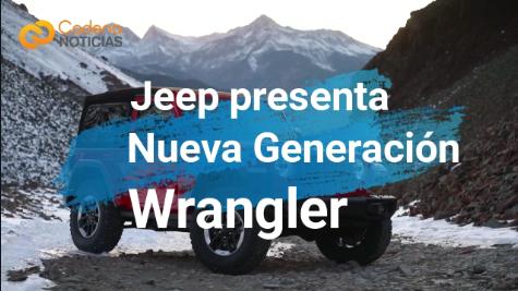 Jeep presenta la nueva generación del Wrangler