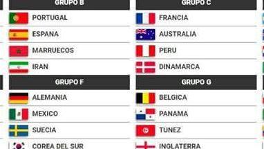 Alemania, Suecia y Corea, los rivales del Tri en el Mundial