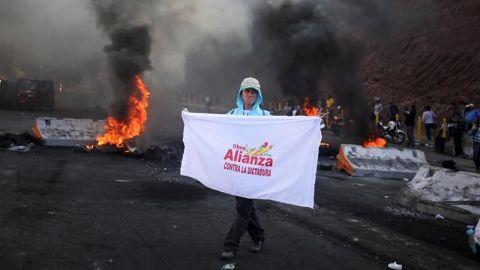 """Unos siete muertos dejan protestas contra """"fraude"""" en Honduras, según medios"""