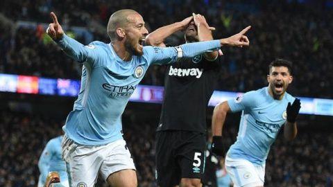 Man City vence al West Ham con remontada; Chicharito no fue convocado