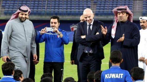 La FIFA retira suspensión deportiva a Kuwait