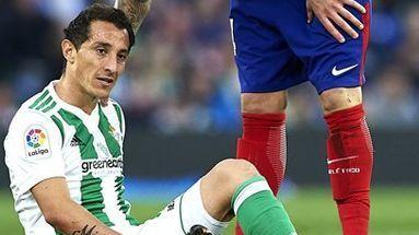 Andrés Guardado será baja por rotura en aductor derecho