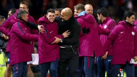 Tras pelea con Mourinho, Guardiola defendió a sus jugadores