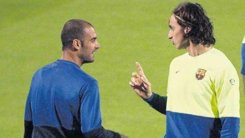 """Ibrahimovic vuelve a atacar a Guardiola: """"Es el DT más inmaduro que he tenido"""""""