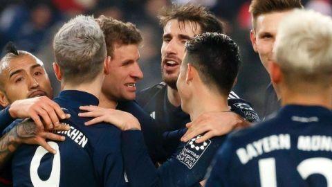 Bayern gana y se ubica en la cima de la Bundesliga