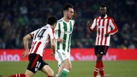 Sin Guardado por lesión, Betis cayó en casa ante el Bilbao