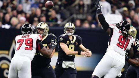 Los Saints derrotan a los Falcons y van a playoffs