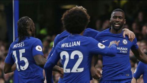 Chelsea apabulla al Stoke City