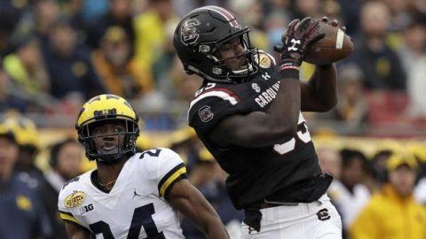 Bentley lleva a South Carolina a vencer a Michigan 26-19 en el Outback Bowl