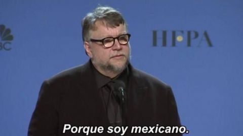"""""""Porque soy mexicano"""", la frase de Del Toro que inspira memes"""