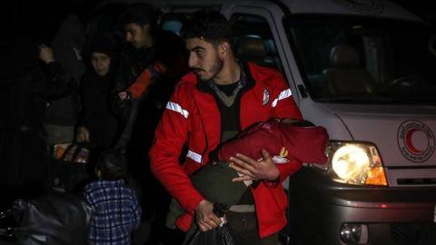 Al menos 21 afectados por un supuesto ataque con gas cerca de Damasco