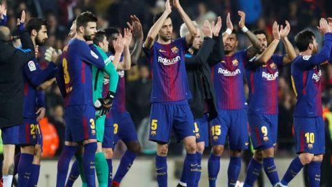 Definen semifinales de la Copa del Rey; Barça enfrentará al Valencia