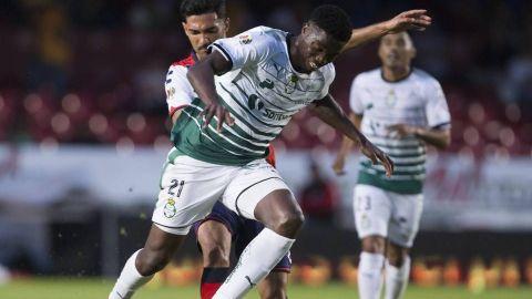 Djaniny le robó el triunfo a Veracruz en el último minuto
