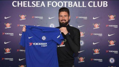 Giroud es nuevo jugador del Chelsea