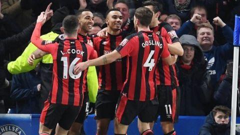El Bournemouth humilla al Chelsea