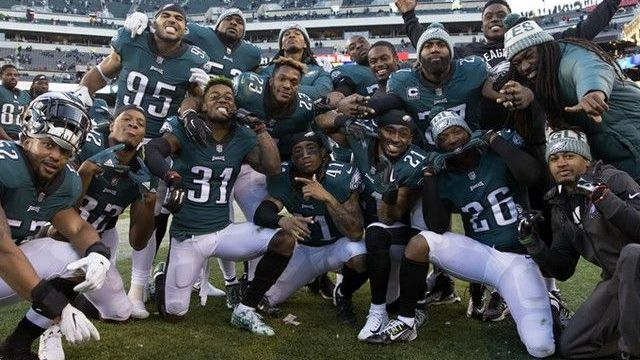 Eagles ganaron premio a la Mejor Celebración del Año en la NFL 45a82398e1a