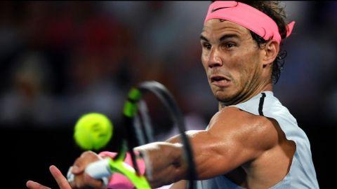 Nadal se prepara para competir en Abierto Mexicano de Tenis