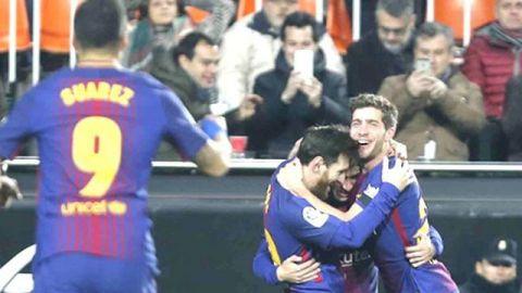 Barça defenderá título de Copa del Rey, otra vez