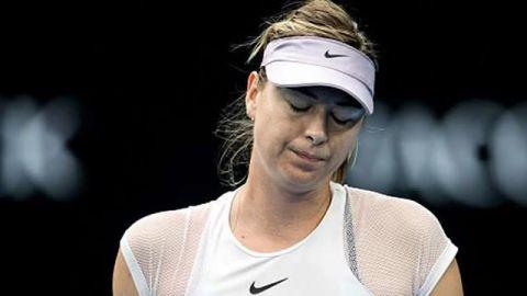 Sharapova, eliminada en primera ronda en Qatar