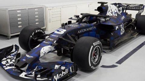 Red Bull dio un adelanto de lo que será su auto RB14