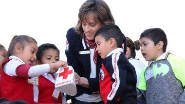Rivera de Gastélum encabeza inicio de la Colecta Cruz Roja Tijuana 2018