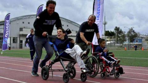 Exitoso Festival de Atletismo del Deporte Adaptado en Tijuana
