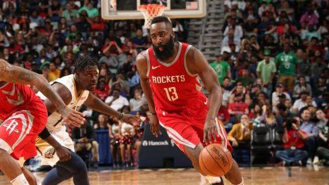 Harden y Rockets consiguen su 21ra victoria en 22 partidos