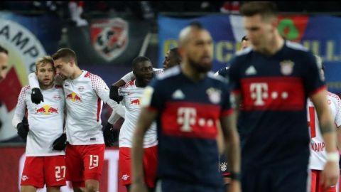 El Leipzig sorprende con victoria sobre Bayern Munich