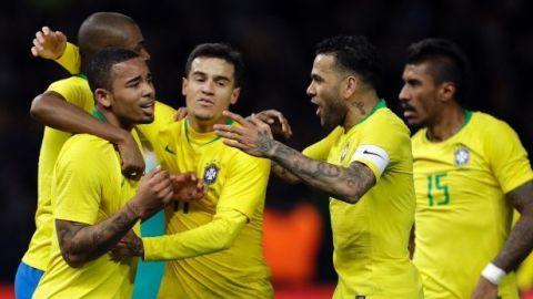 Brasil se impone a Alemania en amistoso