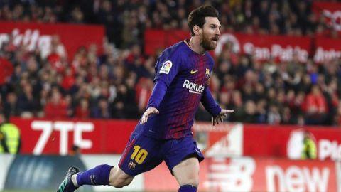 Messi salva al Barcelona y le permite seguir invicto