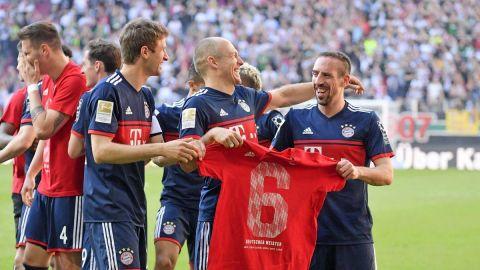 Bayern Munich es campeón de Bundesliga por sexta temporada seguida