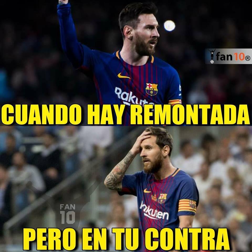 Los memes de la eliminación del Barcelona en Champions