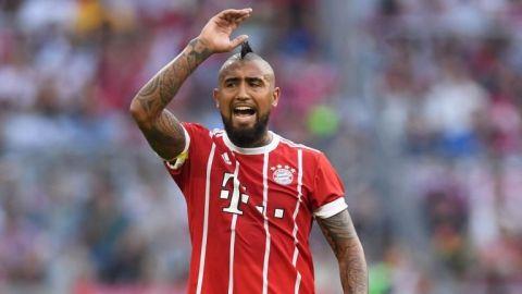 Vidal, en duda para duelo de Champions por lesión en rodilla derecha