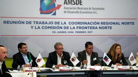 Realizarán reunión de secretarios  de desarrollo económico de la frontera norte