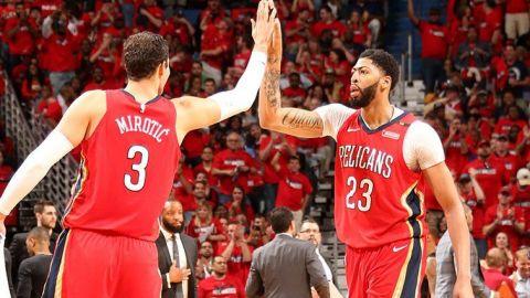 Pelicans, a una victoria de barrer a Blazers