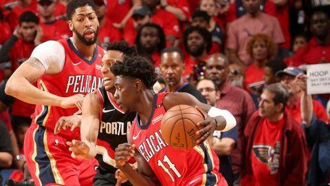 Davis brilla con 47 puntos; Pelicans barren a Blazers