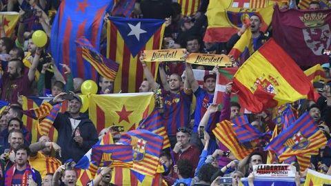 Polémica por prohibición de camisetas independentistas en Copa del Rey