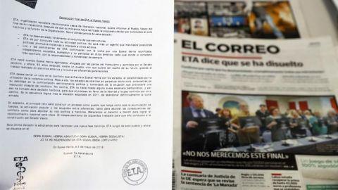 ETA se disuelve tras casi sesenta años de existencia, con más de 850 muertos