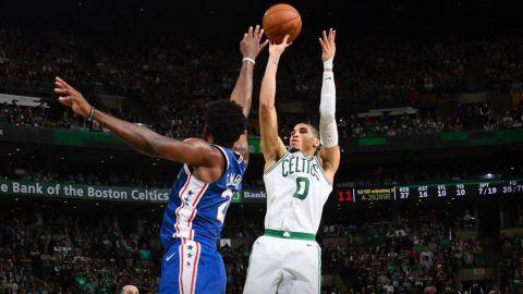 Celtics eliminan a 76ers y se medirán a Cavaliers
