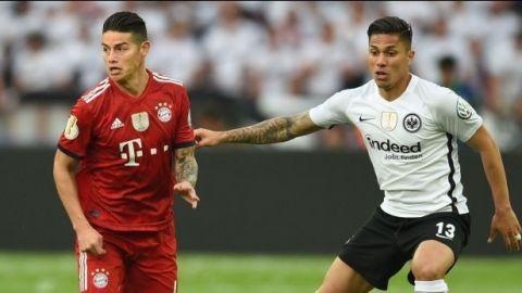 Carlos Salcedo y el Eintracht ganan Copa de Alemania ante el Bayern