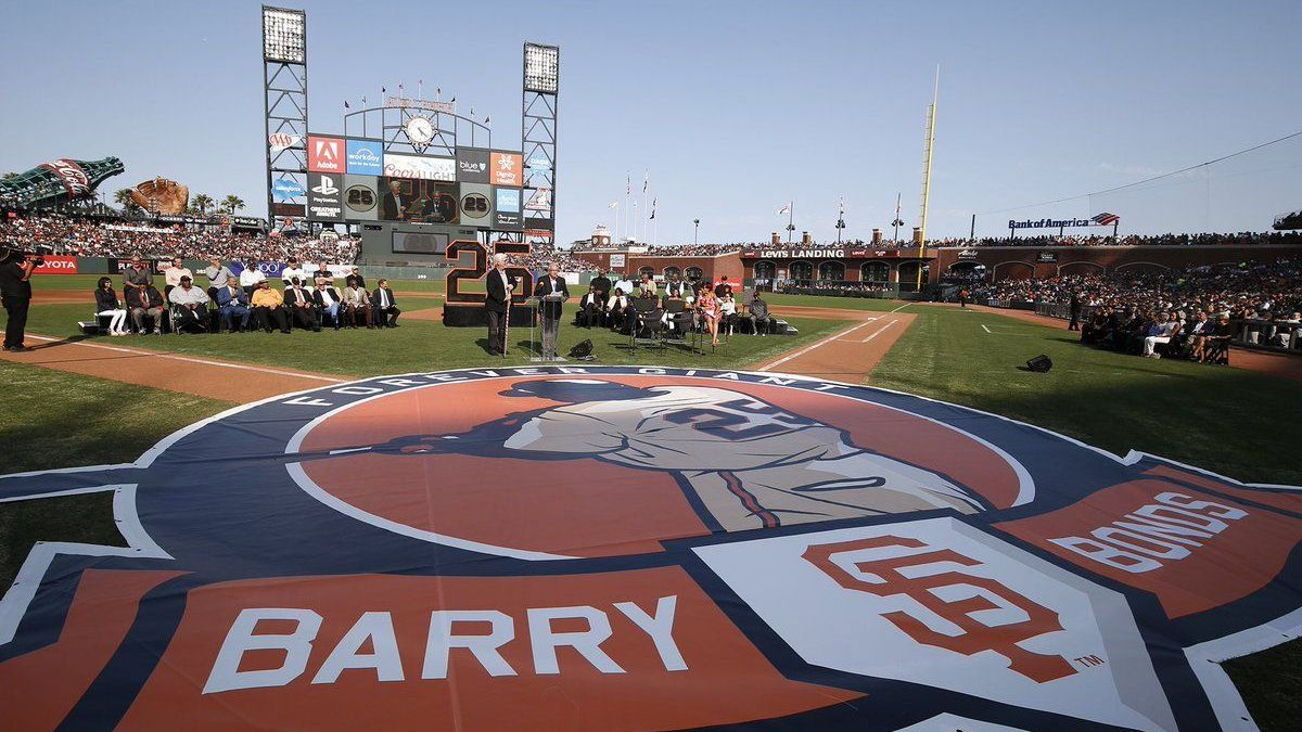 Giants withdraw Barry Bonds number