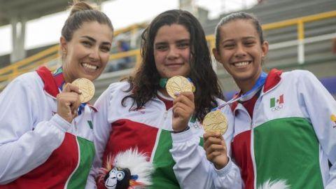 Cuatro oros y una plata para México en el panamericano de tiro con arco