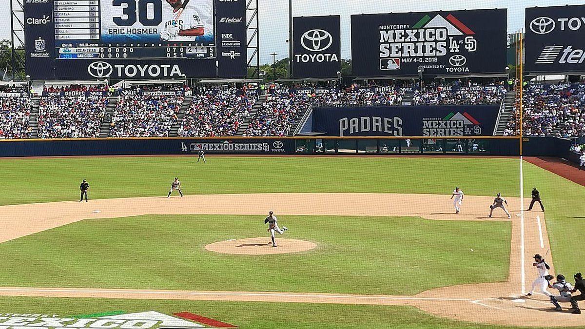 MLB regresa a México para 2019 con seis juegos en Monterrey 16ad1ad2a