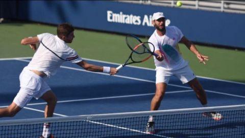 Santiago González gana juego de dobles en el US Open