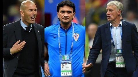 Deschamps, Zidane y Dalic, finalistas al premio The Best 2018