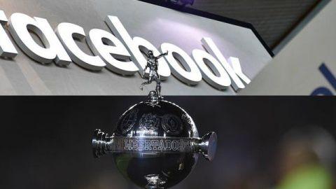 Facebook transmitiría partidos de la Copa Libertadores 2019