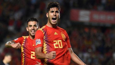 España castigó a Croacia en la Liga de Naciones