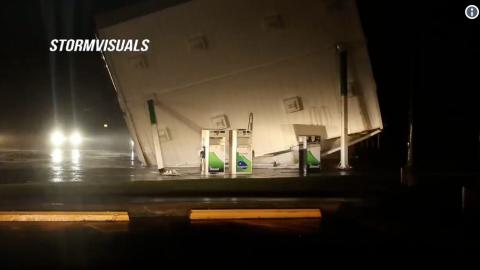 """VIDEO: Huracán Florence, debilitado, sigue causando """"catastróficas inundaciones"""""""