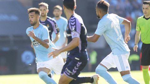 Araujo y Celta dejaron ir el triunfo en último minuto ante Valladolid